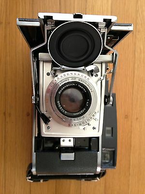 POLAROID 110A PATHFINDER LAND CAMERA Rodenstock f/4.7 127mm Excellent Condition