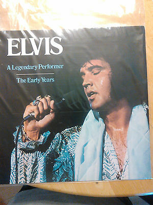 Elvis Presley  A Legendary Performer The Early Years Booklet  Nm