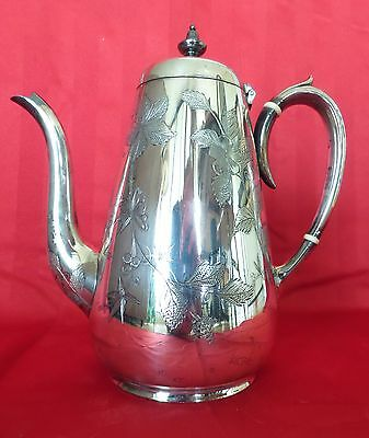 Silver Coffee Pot By Neill Of Belfast Circa 1860