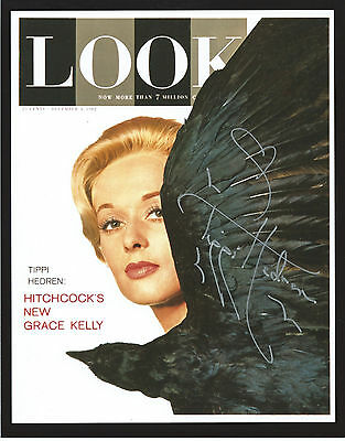 TIPPI HEDREN Hand Signed 8x10 Autographed Photo With COA - THE BIRDS