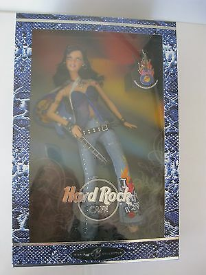 Mattel HARD ROCK CAFE BARBIE Doll Brunette 2005 NRFB