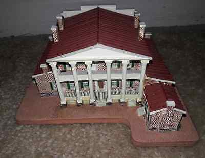 """Danbury Mint Homes Of The Presidents """"the Hermitage"""" Nashville Tennessee"""