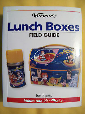ANTIQUE LUNCH BOX PRICE GUIDE BOOK Metal with Thermos bottles All Color Pics $$$