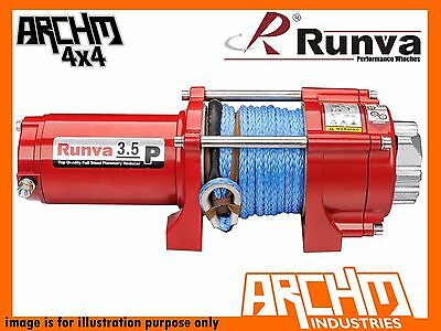Runva Atv Series 24V 3500Lb / 1588Kg With Dyneema Rope Recovery Winch