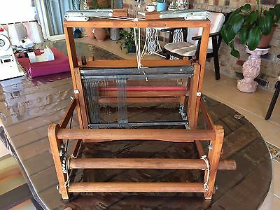 Table Weaving Loom 4 Harness With 26 Heddles On Each And Has a 380 Weaving Width
