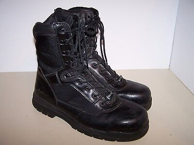 Bates thinsulate steel toe boots E02320 black US size 14