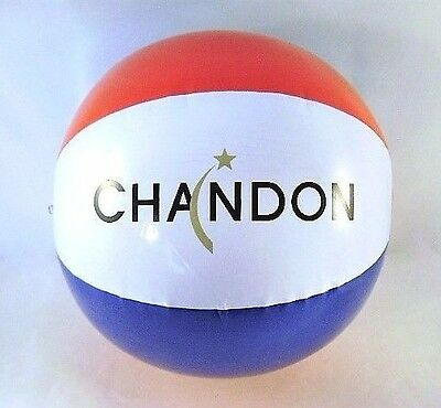 Chandon Beach Balls Summertime Pool Beach Blow Up Inflatable New Pack/Lot of 4