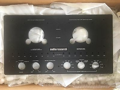 Audio Research Amp ARC Ref 600 Or 600 Mk2 Pair(2) Black Fronts  12 Knobs,Bolts