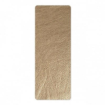"""Sizzix Leather - 3"""" x 9"""" Metallic Gold (Cowhide)   660607"""