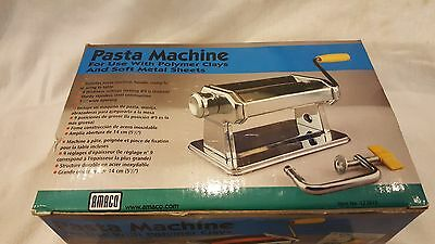 Amaco Pasta Machine For Use with Polymer Clays
