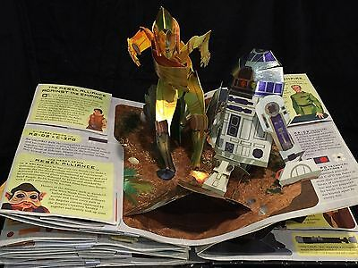 Star Wars Pop-Up Guide to the Galaxy AWESOME Collector Book