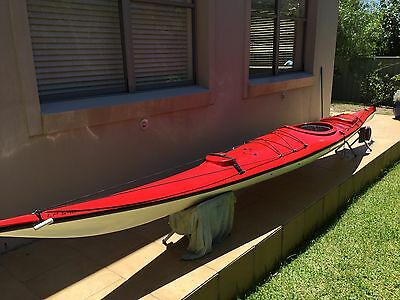 Red Liquid Planet Kayak
