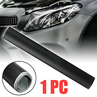 "12x60"" Matte Black Vinyl Film Wrap Car DIY Sticker Vehicle Decal 3D Bubble Free"