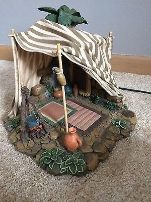 "Fontanini Nativity Village The King's Gold Tent   5"" Scale #50254"