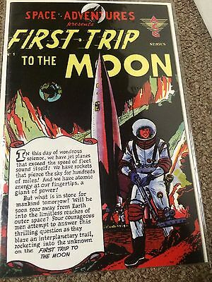 Space Adventures First Trip to the Moon #1 (1999) Revised Edition ACG