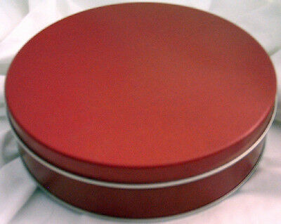Red Cookie Tin