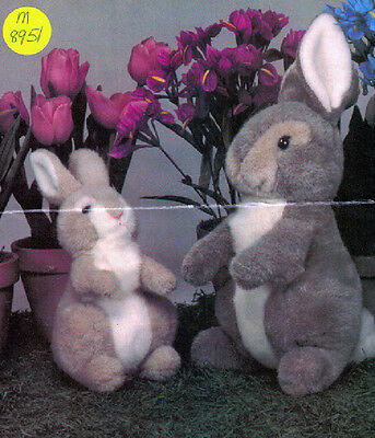 McCalls 8951 - Bunnies Big and Small Patterns