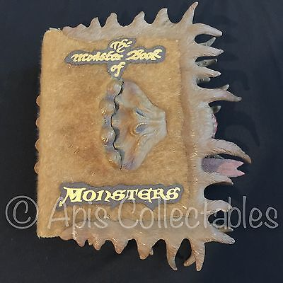⭐️ 2010 Tomy HARRY POTTER The Monster BOOK OF MONSTERS Sound Electronic Lock ⭐️