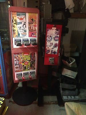 Lot of 2 sticker/tattoo machines -very nice condition-excellent $ earners!!!