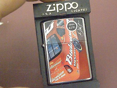 Zippo '05 Budweiser Car #8 Mint In Case Beauty! Only 1 on E-Bay!! RARE! Dale Jr
