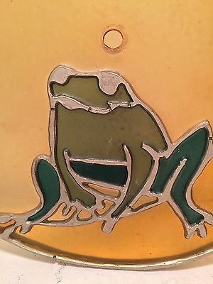 Rare squatting Frog light cover from the Coco Palms Resort, Kauai