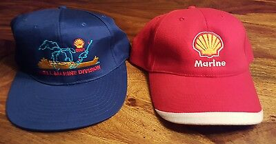 2 collectible Shell marine division hat