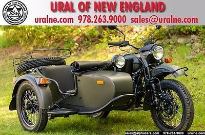 2016 Ural cT Forest Fog Custom  Custom Color Loaded with Options Brembo Brakes Financing & Trades