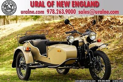 2016 Ural Gear Up 2WD Sahara Custom  Brembo Brakes Reverse Gear Custom Color 2WD Financing & Trades