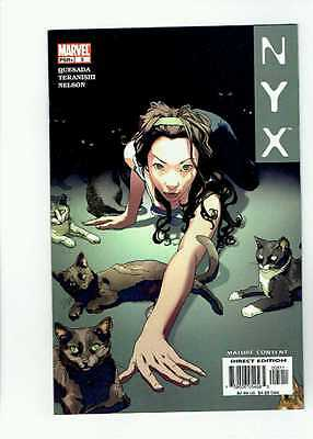 NYX 5 3rd App X-23 Laura Kinney High Grade Key NM New Logan Movie SEE SCANS
