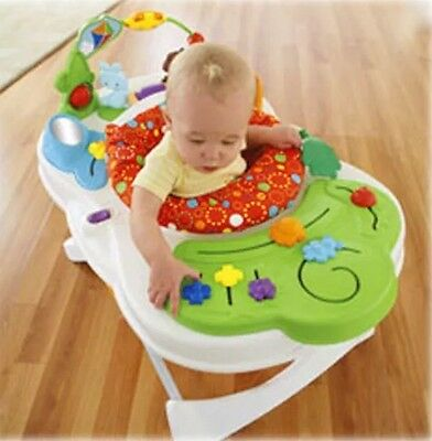 Fisher Price Snack Feeding Chair Portable Baby Seat Activity Center