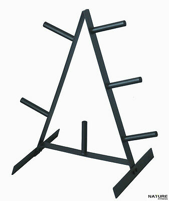 Nature fitness weight plate tree rack - standard plate home gym