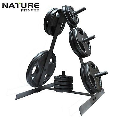 New Plates Storage Rack Weights Tree Stand For Standard Plate Home Gym Weight