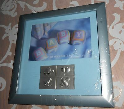 Baby Boy Frame With Embellishment