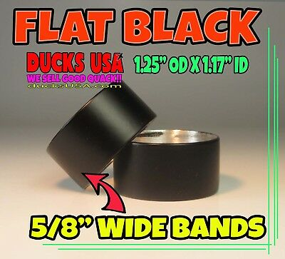 DUCK CALL BANDS Laser Engraved Flying Mallards 2-Pack Powder