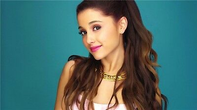 """9Ariana Grande USA generation of female singer Fabric Poster 17x13/"""" A032"""