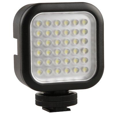 Godox LED36 260Lux Continuous on camera LED panel Light Ultra Bright Portable