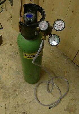 mig welder gas and regulator argon/co2
