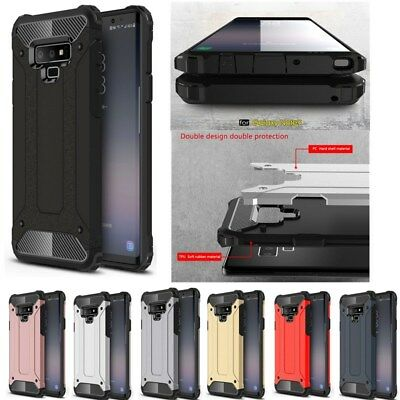 Shockproof Rugged Hybrid Rubber Case Cover For Samsung Galaxy Note 9 S9 S10 Plus