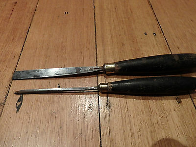 Antique Ward & Payne SJ Addis Carving Chisels - Lot 2