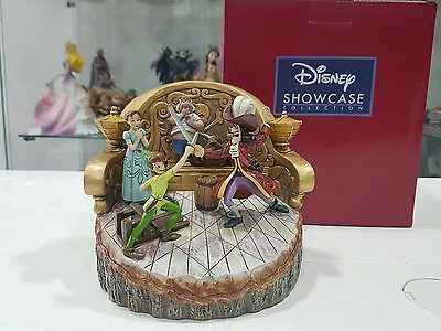 Disney Traditions Daring Duel Carved by Heart Peter Pan Figurine 4048653 Nuovo