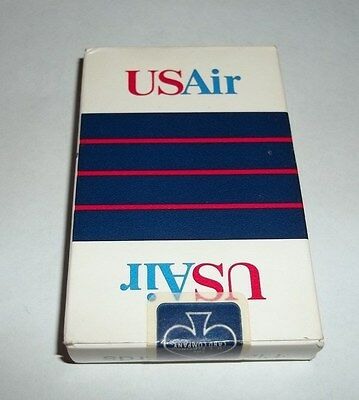 US Air Airlines Playing Cards Sealed Vintage Standard Size Airplane Poker Bridge