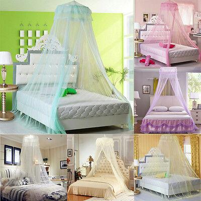 Mosquito Net Bed Canopy Netting Fly Insect Protection Bed Outdoor Curtain Dome