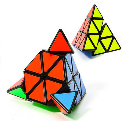 Rubics Cube Triangle Pyramid Shape Twist Puzzle Brain Teaser for A Best Gift