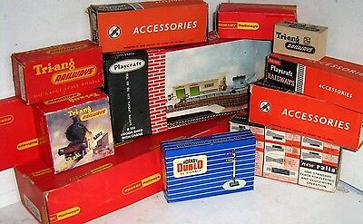 BOXED MODEL RAILWAY ACCESSORIES - 1960/80 ~ click HERE to browse or order