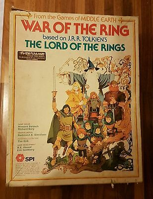 War Of The Ring Board Game Spi 1977 Il Signore Degli Anelli From Middle Heart