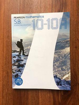 Pearson Mathematics 10-10A Essentials Edition Student Book by David Coffey...
