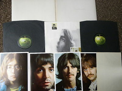 Beatles White Album D/lp 68 Top Loading 1St Stereo  / Inserts + Spacer Ex /ex