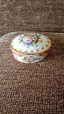 royal albert lady carlyle small trinket box