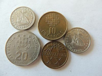 COLLECTION / BULK LOT OF PORTUGAL COINS Ref 270