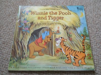 Winnie The Pooh And Tigger Lp Disney St 3975 1969 Miss Press With Booklet